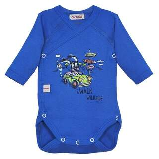 Body maneca lunga WALK WILDSIDE BLUE 1-6 luni