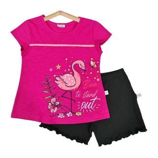 Pijamale scurte FLAMINGO