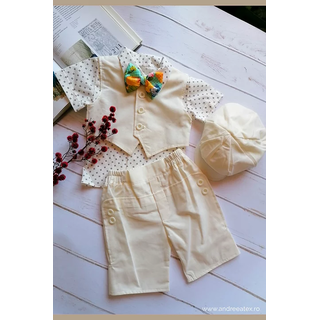Costum botez de In David, ivory