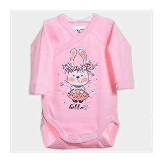 Body maneca lunga RABBIT GIRL 0-6 luni
